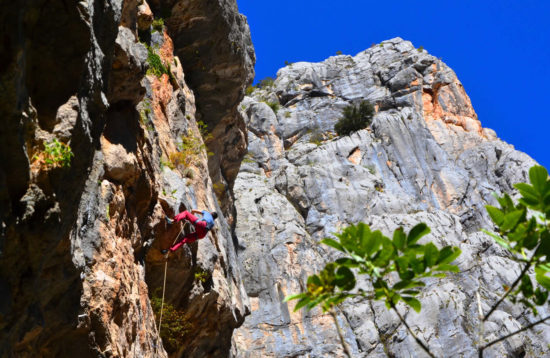 Rock climbing - Paklenica, Croatia - Multipitch