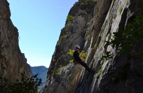 Rock climbing tour - Paklenica, Croatia - Climbing upgrade