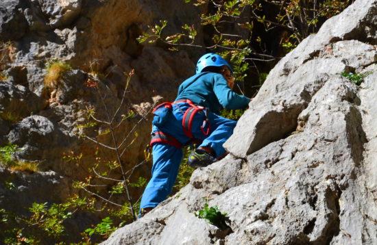 Rock climbing - Paklenica, Croatia - intro